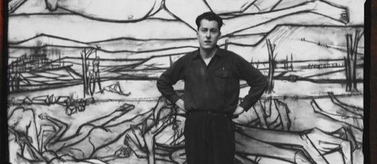 peintre français Bernard Buffet